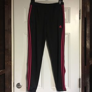 Adidas Black Cimacool Pink Stripes